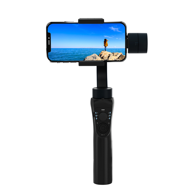 WiWU S5B Vlog Shooting Tripod Holder 360 Rotation Auto Live Video Tracking Object Phone Adjust Automatic Mini Selfie Stick