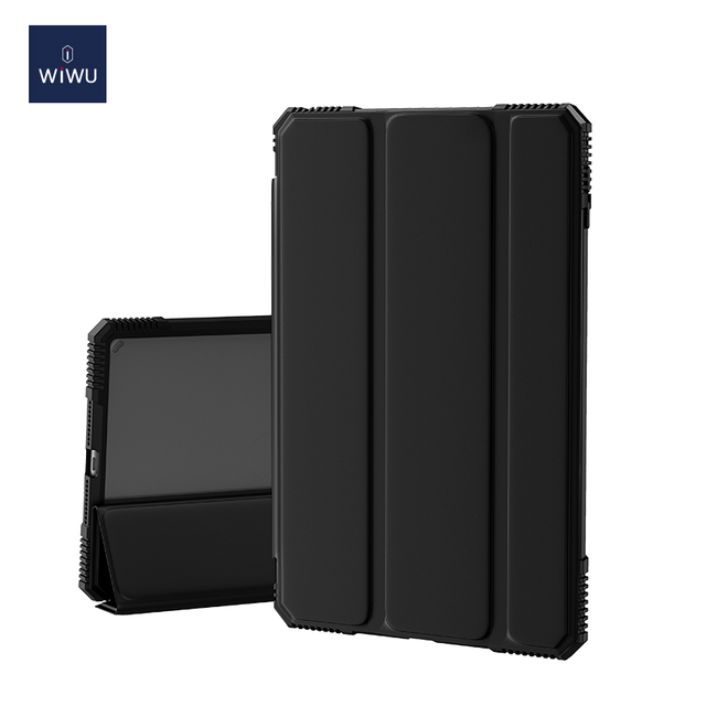 WiWU Alpha iPad Case with Pencil Holder Slim Folio Smart Auto Sleep/Wake Cover
