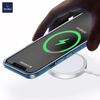 WiWU M5 15W Magnetic Fast Charging Mag-safe Wireless Charger iPhone 12